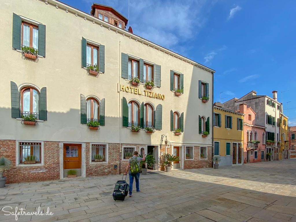 Hotel Tiziano in Venedig