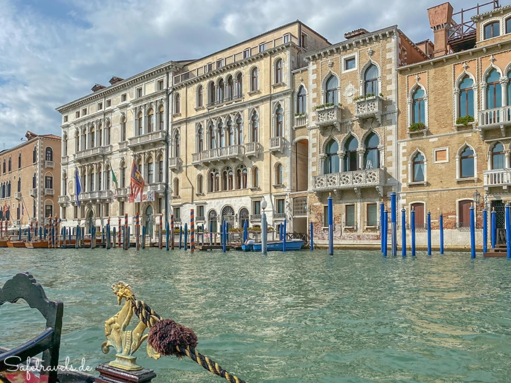 Imposante Palazzi in Venedig