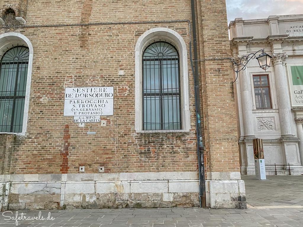 In Dorsoduro in Venedig