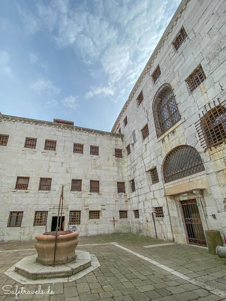 Innenhof Gefängnis - Dogenpalast