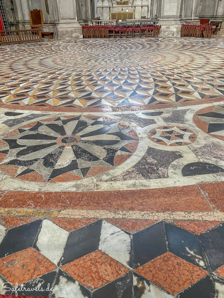 Marmorboden - Santa Maria della Salute Venedig