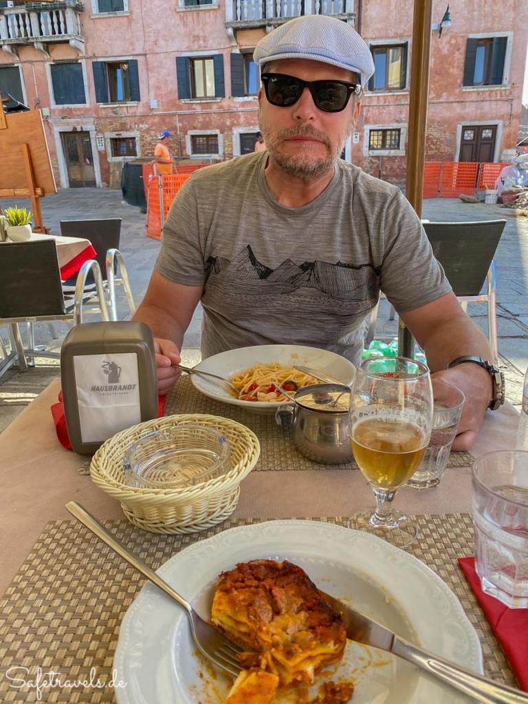 Mittagessen im San Basegio Ristorante