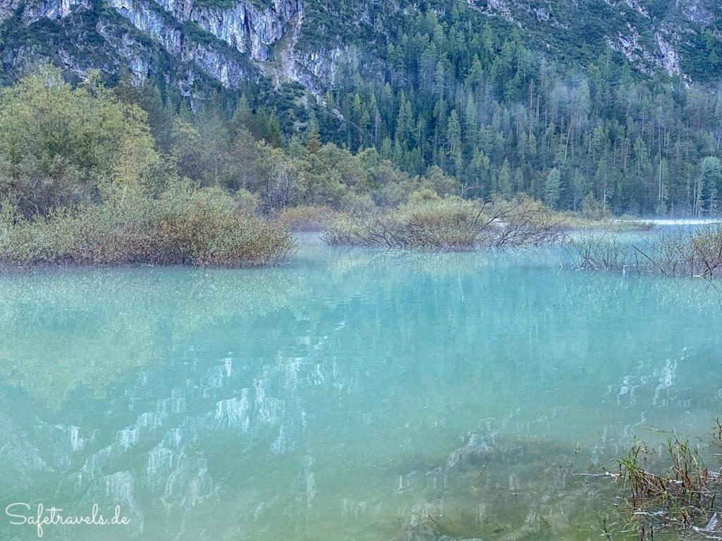Morgens am Dürrensee - Dolomiten