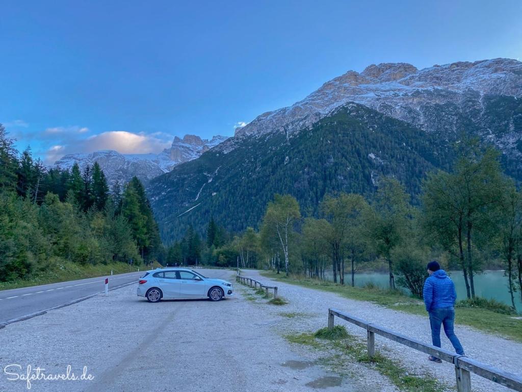 Morgenstimmung am Dürrensee - Dolomiten