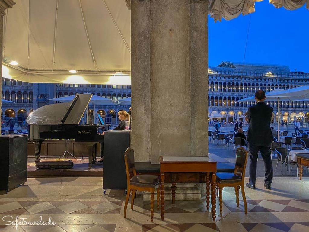 Musik im Caffe Florian in Venedig