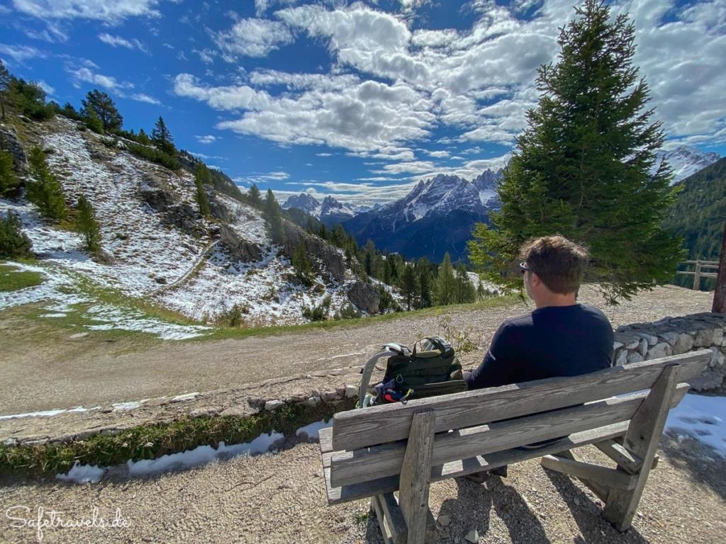 Pause an der Dürrensteinhütte - Plätzwiese
