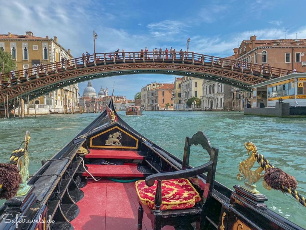 Ponte dell'Academia - Gondelfahrt Venedig