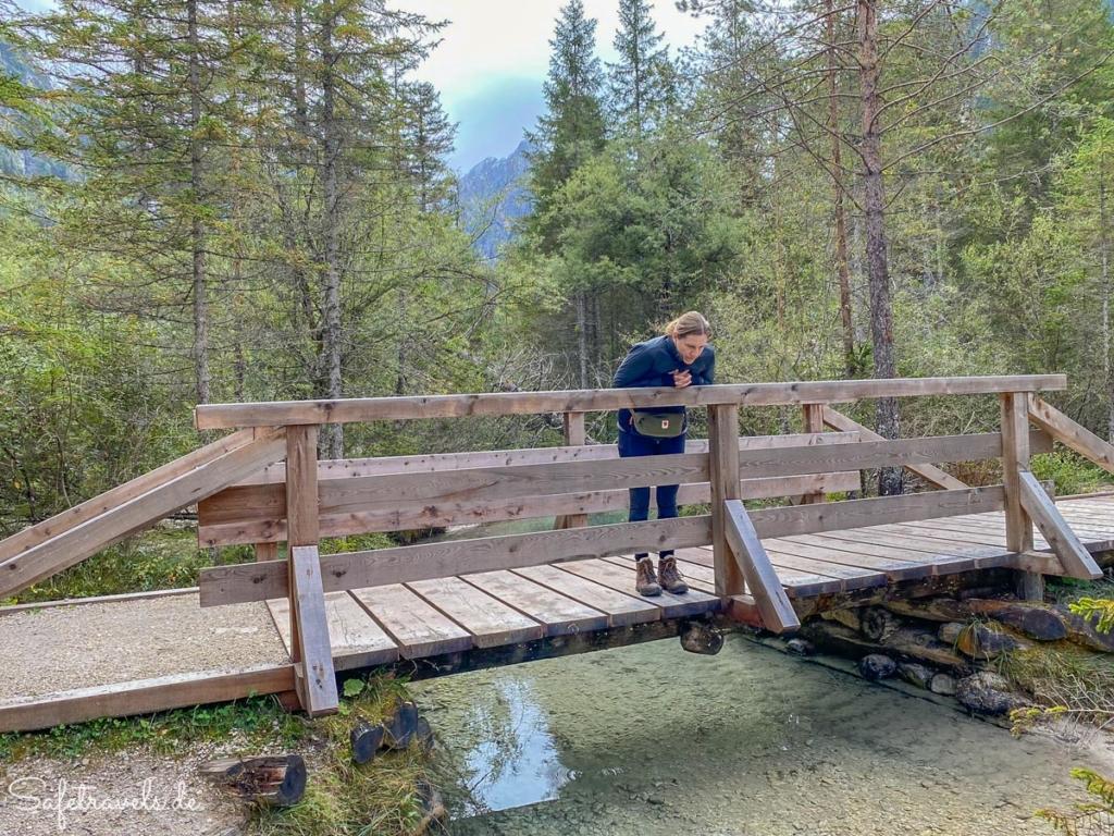 Rienz Zufluss am Toblacher See