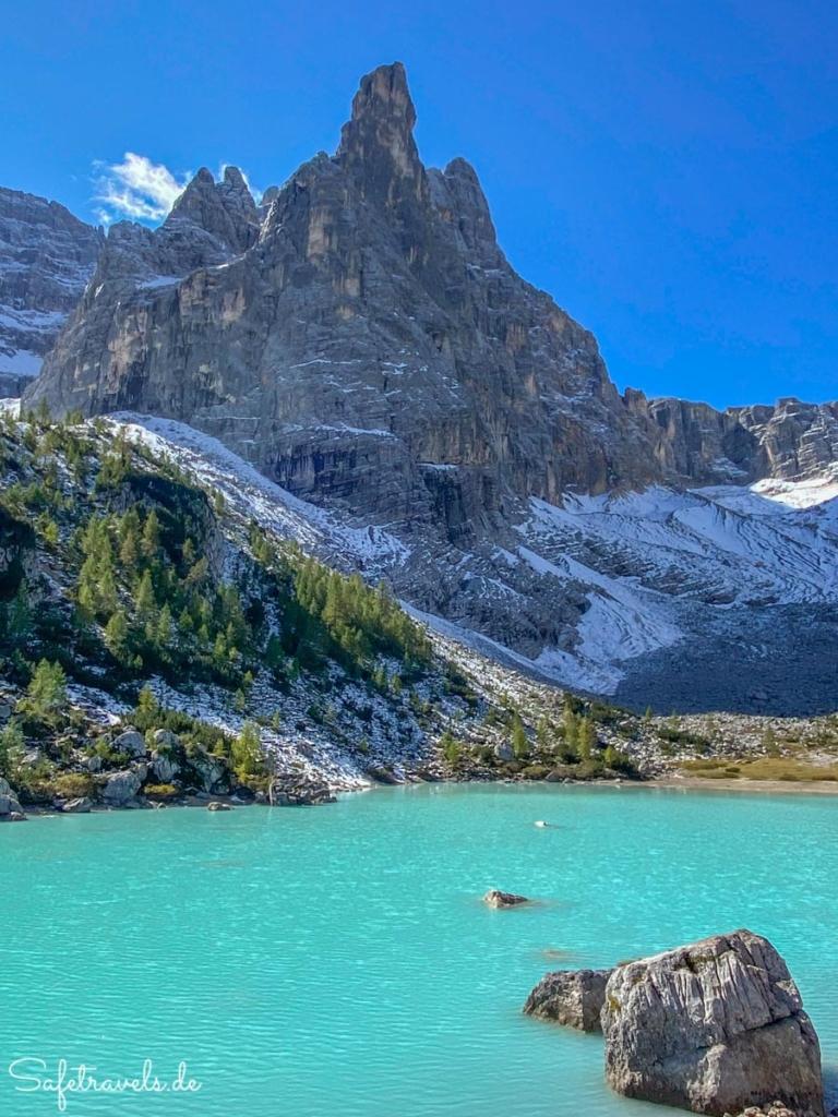 Sorapis See - Lago di Sorpais - Dolomiten