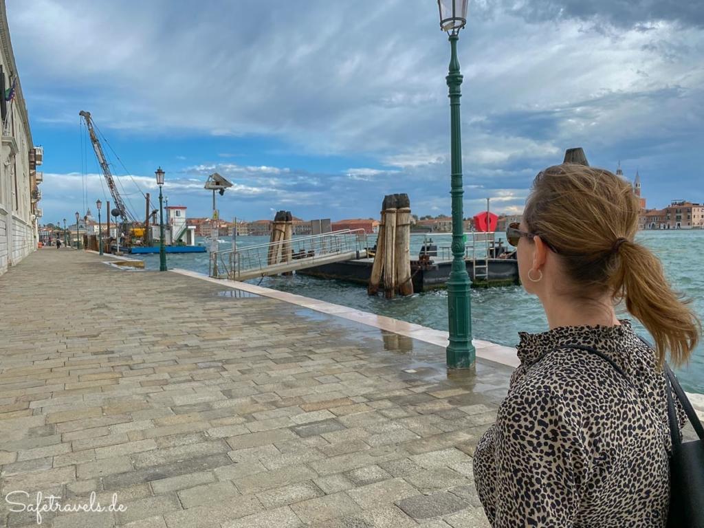 Spaziergang an der Promenade - Venedig