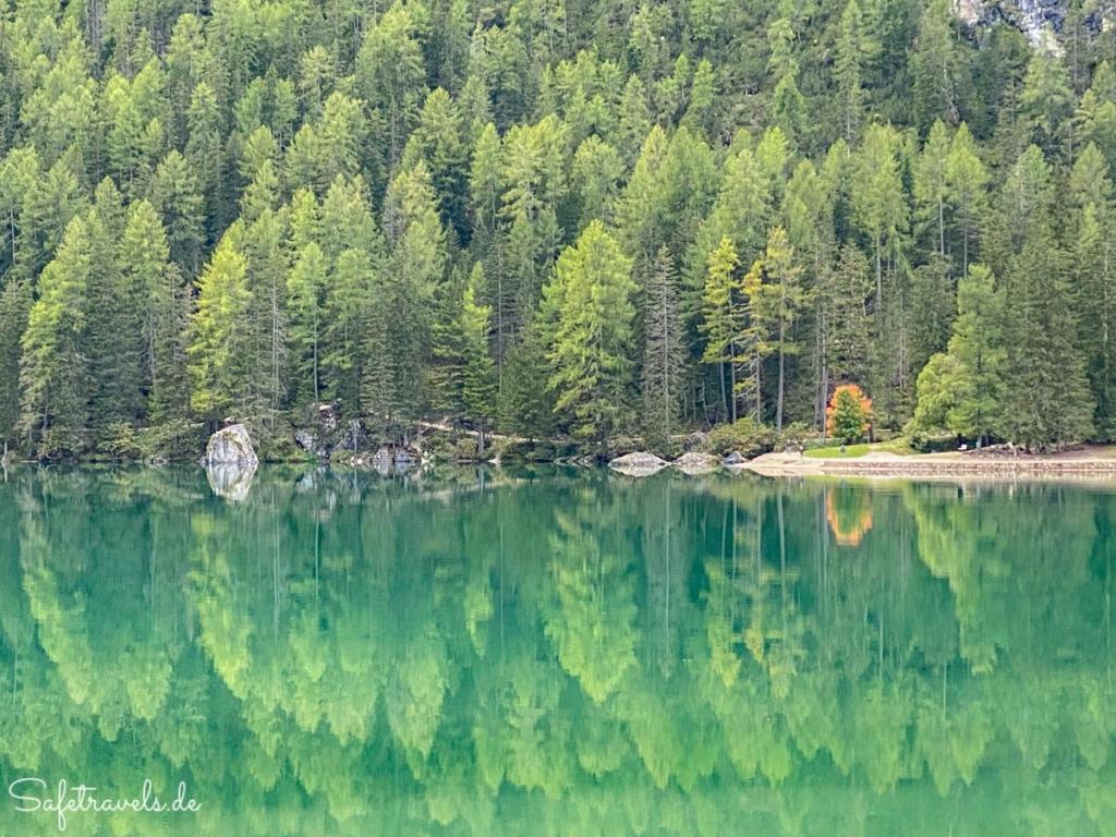 Spiegelung - Pragser Wildsee