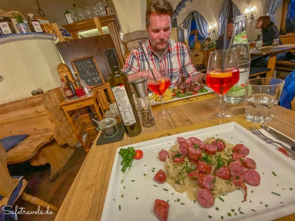 Südtiroler Küche - Schlosskeller in Toblach
