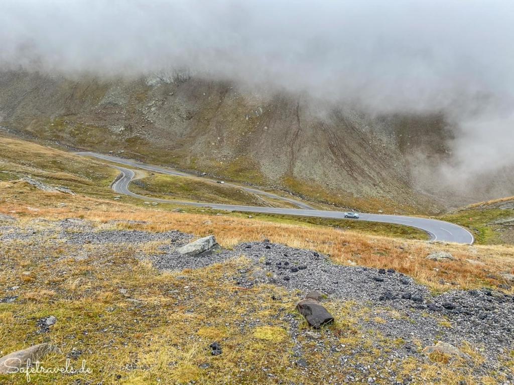 Timmelsjoch Hochalpenstrasse - noch in Österreich