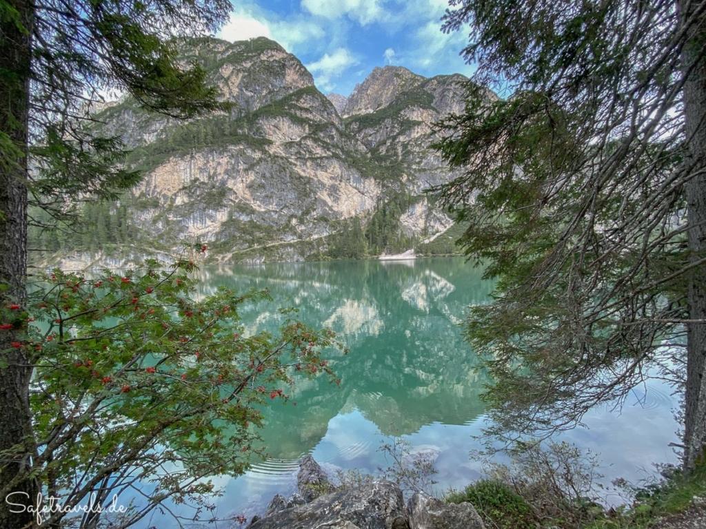 Türkisblaues Wasser - Pragser Wildsee Rundweg
