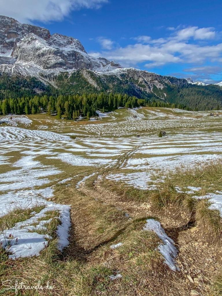 Wanderung an der Plätzwiese - Dolomiten