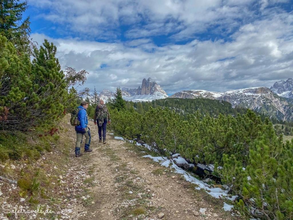 Wanderung auf den Strudelkopf - Umweg