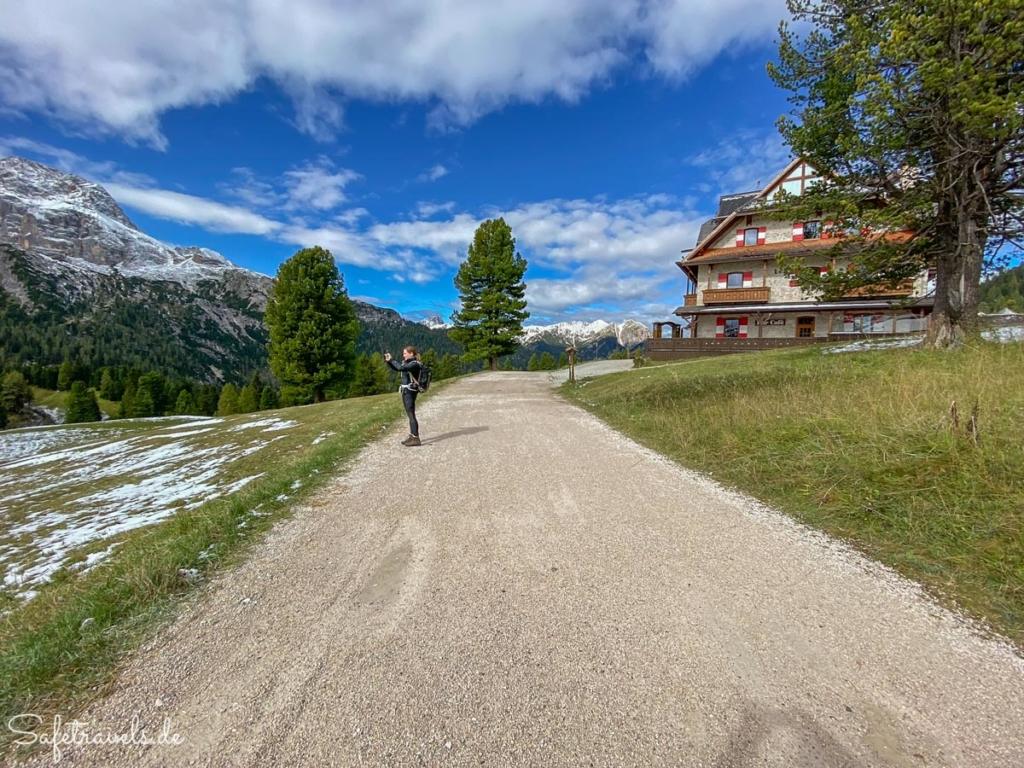 Wanderung von der Plätzwiese zum Strudelkopf - Hotel Hohe Gaisl