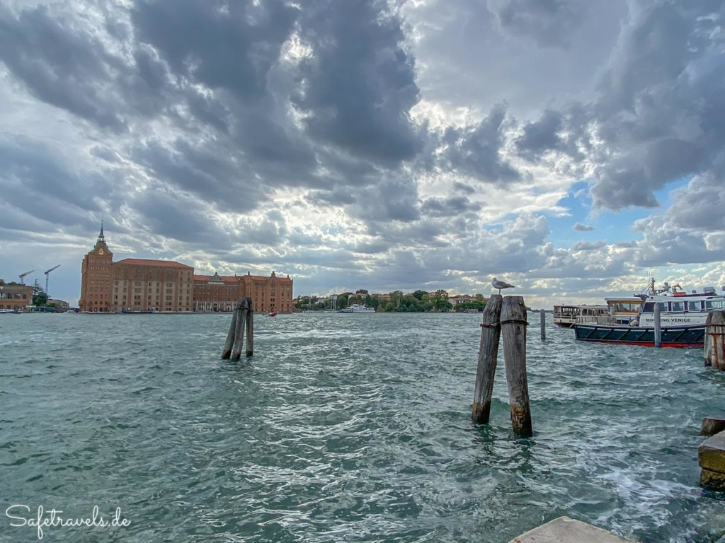 Windiger Nachmittag in Venedig