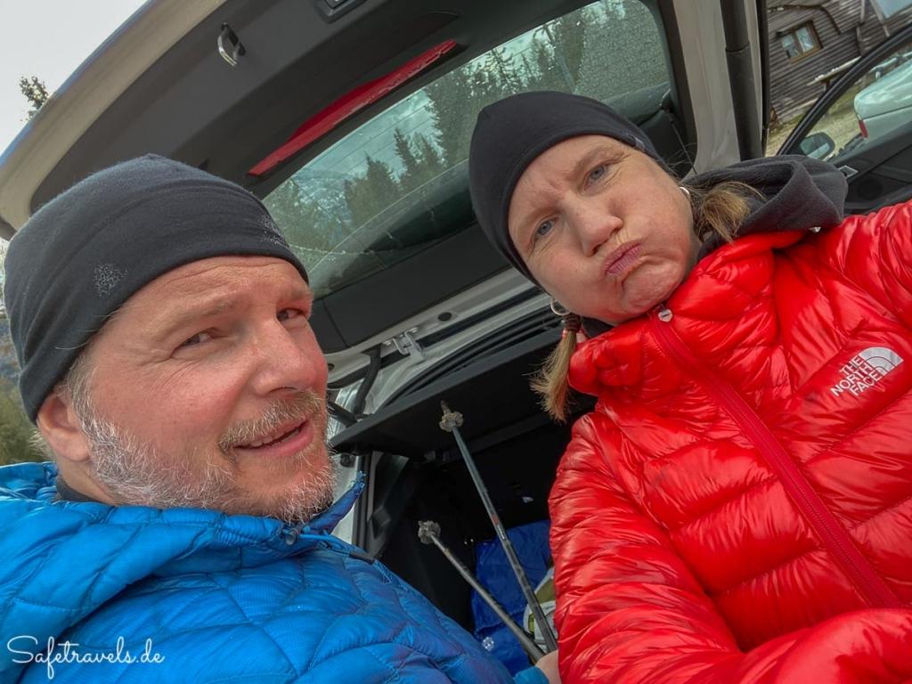 Zurück am Auto - Wanderung Drei Zinnen